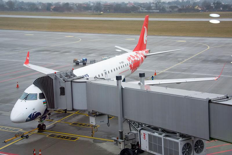 Аэропорт «Львов» начал сотрудничество с еще одним лоукостером