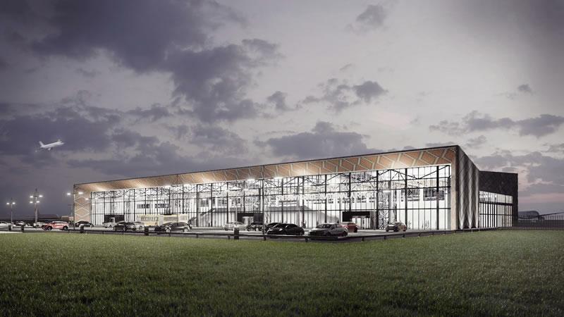 UVT group представила концепцию аэропорта
