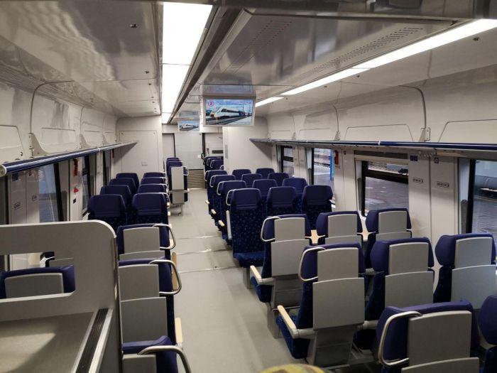 Новый поезд вышел на маршрут Kyiv Boryspil Express