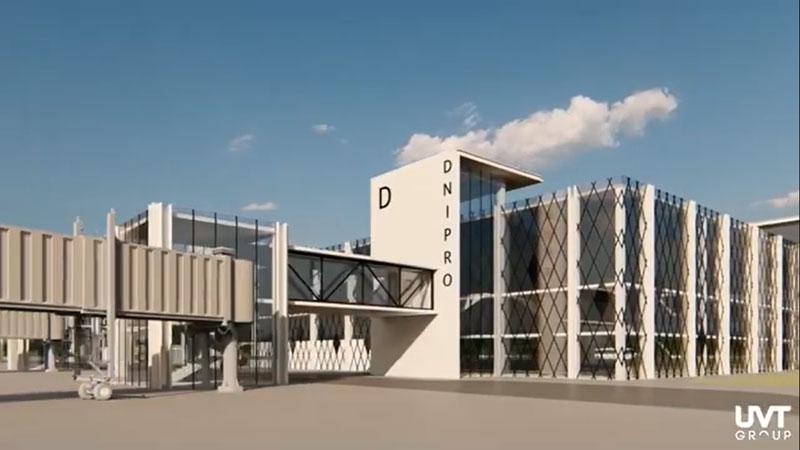 Как будет выглядеть новый аэропорт в Днепре