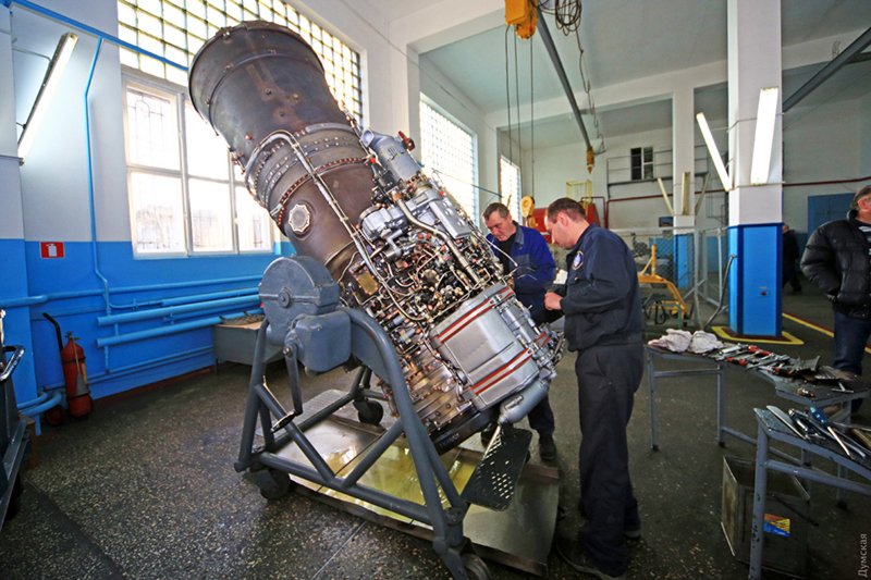 Двигатели для  «Бизонов»