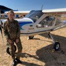 Маргарита Погорелая — единственная курсантка-летчик ХНУВСа