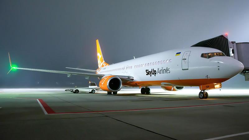 SkyUp Airlines откроет 4 новых регулярных рейса из Львова