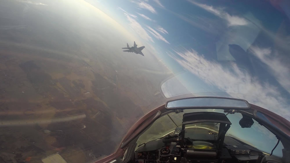 В воздушном командовании Запад подвели итоги года