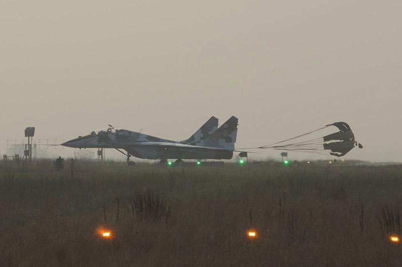 Еще один МиГ-29УБ пополнил ряды Воздушных Сил