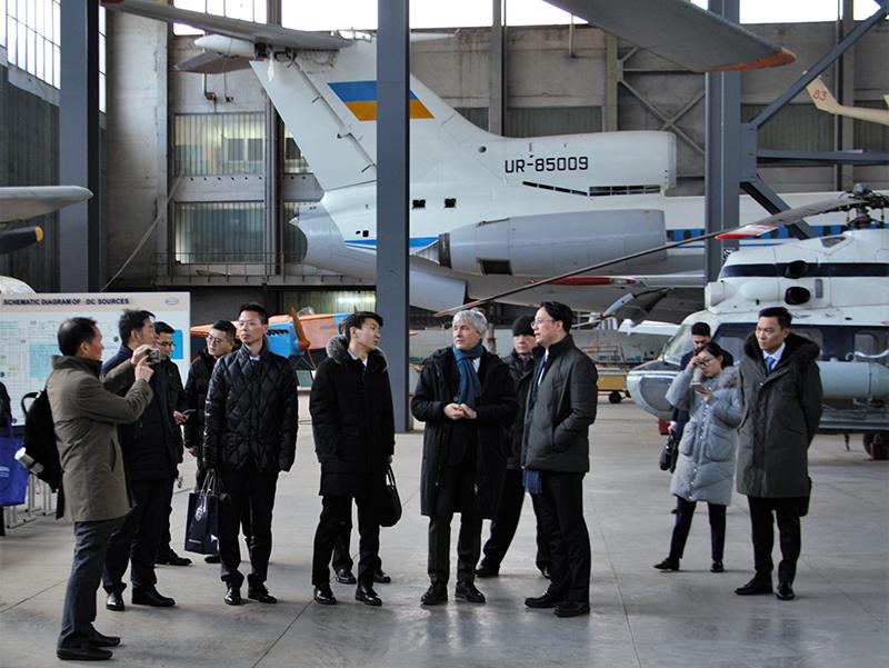 Делегация  из Тайчжоу посетила НАУ
