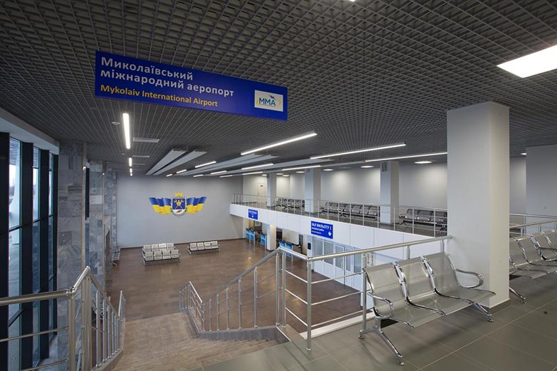 Аэропорт Николаев проиграл суд кредиторам на 500 тысяч