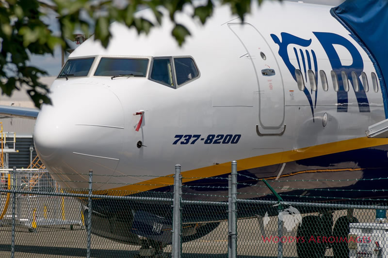 Ryanair страдает из-за задержек с Boeing 737 MAX
