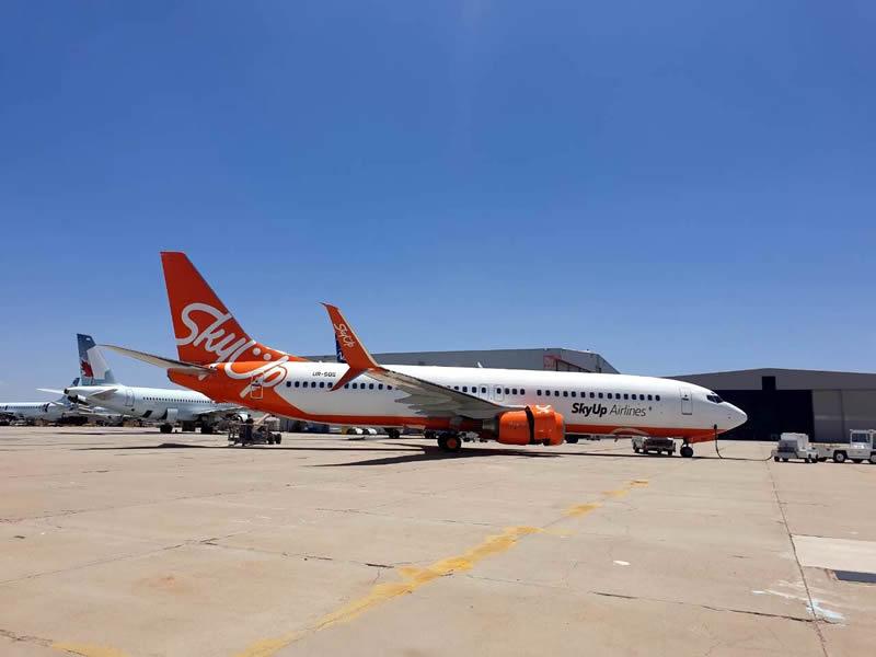 SkyUp Airlines планирует летать в Турцию