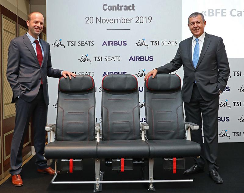 Авиакресла производства совместного предприятия Turkish Airlines вошли в каталог ...
