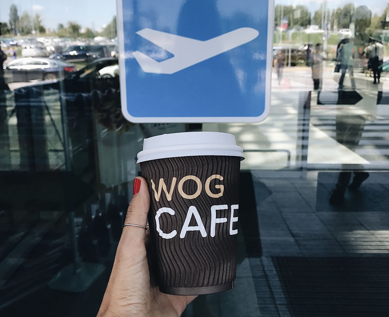 WOG CAFE: мы таки открылись в новом терминале Одесского аэропорта