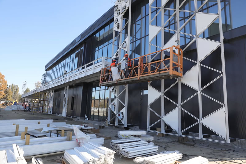 Аэропорт Запорожье получил на терминал 3 млн долларов от Укргазбанка