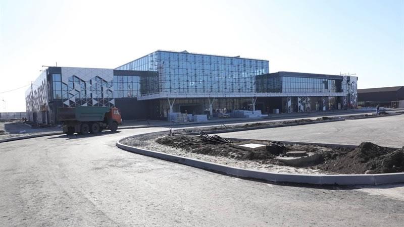 Новый терминал в Запорожье заработает в марте