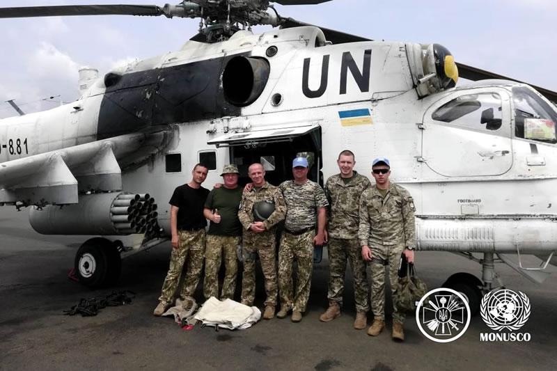 Украинские вертолетчики 18 ОВО совершенствуют летное мастерство и групповую слетанность в ...