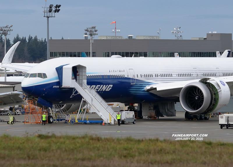 Первый полет Boeing 777X состоится на этой неделе
