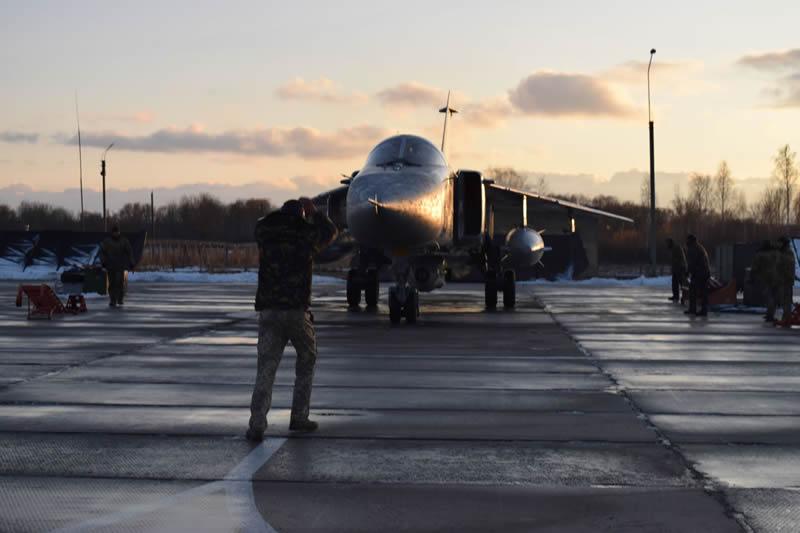 Командирские полеты состоялись в 7й БрТА