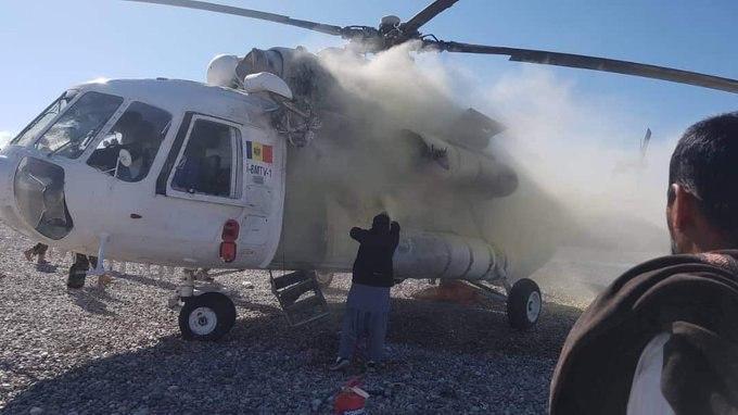 В Афганистане подбили вертолет с украинским экипажем