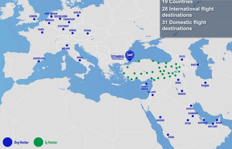 Turkish Airlines будет выполнять международные рейсы как AnadoluJet
