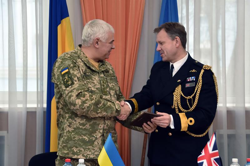 Королевский колледж британских ВВС планирует принять трех украинских курсантов