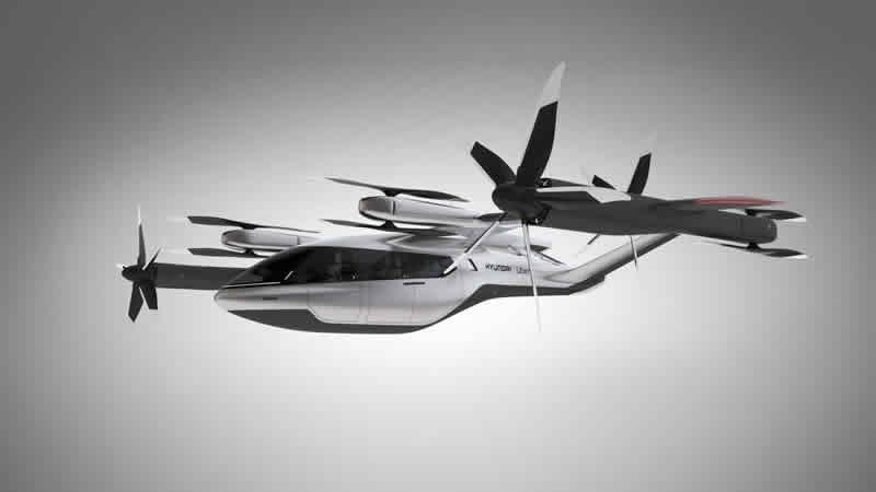 Hyundai будет делать воздушные такси для Uber