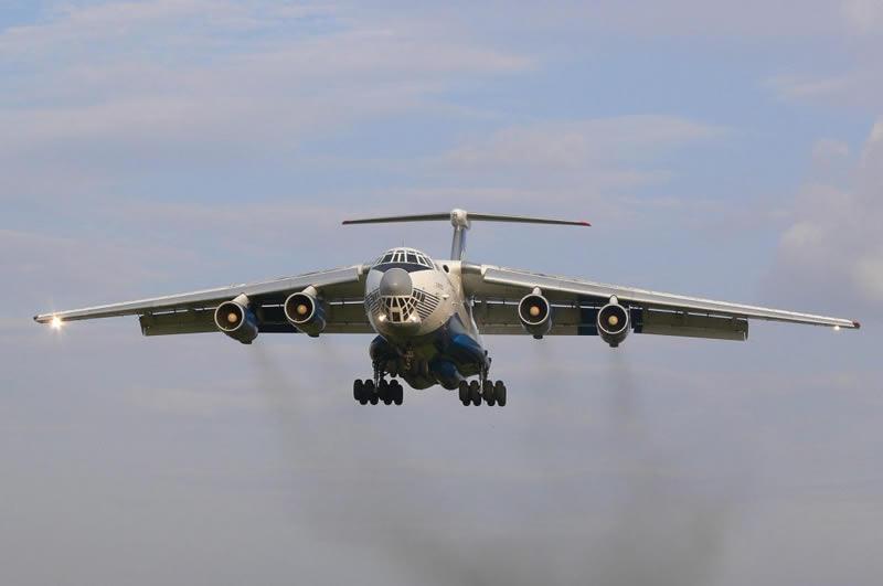 Ил-76МД испытали в районе Говерлы