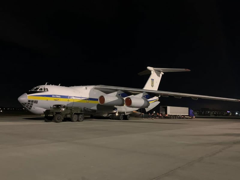 Самолет Минобороны Украины с экспертами вылетел в Иран