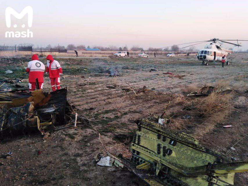 Иран игнорирует запросы Украины по авиакатастрофе