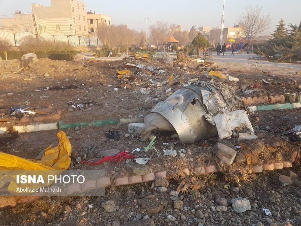 Иран опубликовал предварительный отчет по катастрофе самолета МАУ