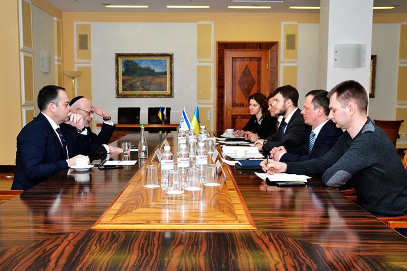 Украина заинтересована в изучении опыта Израиля