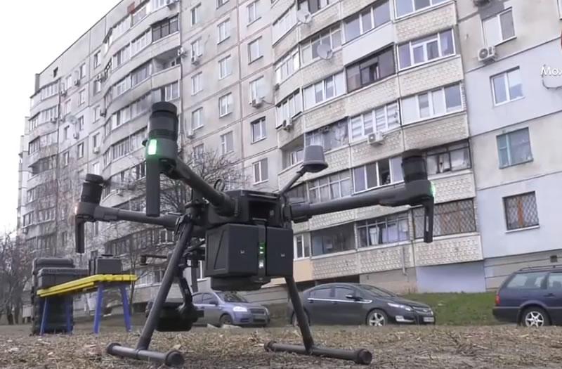 В Харькове будут искать порывы в теплотрассах с помощью беспилотников