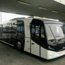 В Борисполе показали новый перонный автобус МАЗ 271