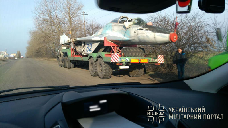 Еще один МиГ-29 отправился на модернизацию