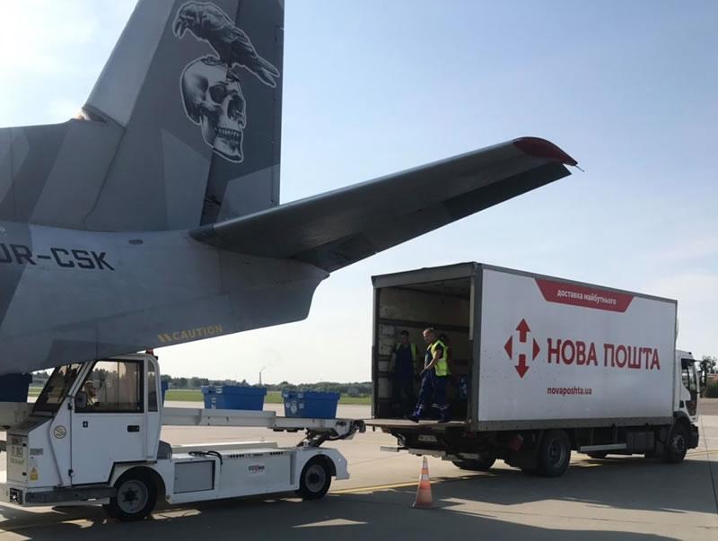 Новая Почта рассматривает для авиадоставки в Киев аэропорты Жуляны и Гостомель