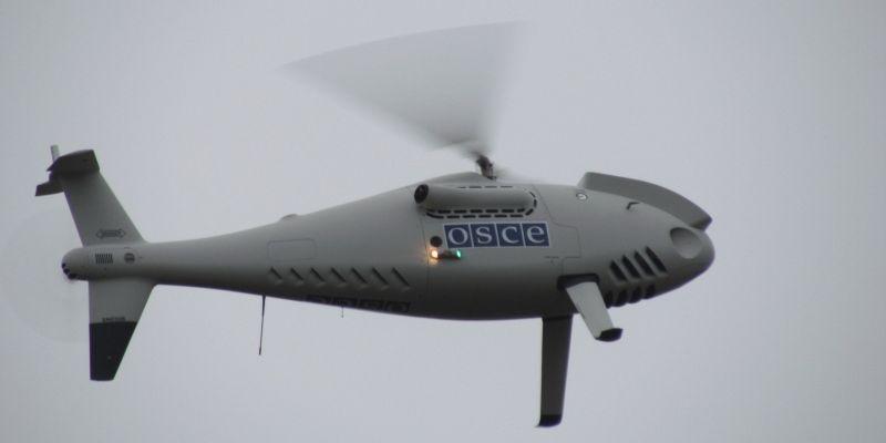 Боевики ведут воздушную разведку, используя в качестве прикрытия беспилотники СММ ОБСЕ