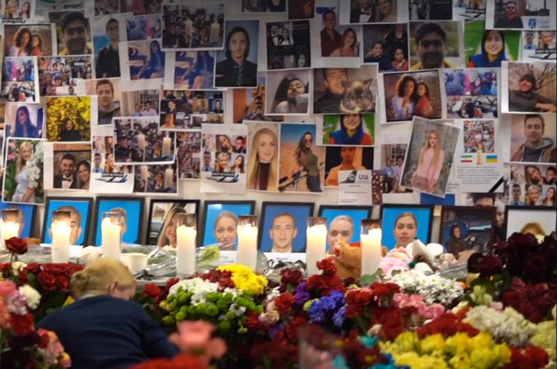 МАУ оказывает помощь семьям жертв рейса PS752 и способствует расследованию трагедии