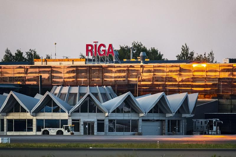 Aэропорт «Рига» завершил год с ростом числа пассажиров на 10,5%