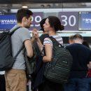 Украинцы стали больше летать и меньше ездить на поездах