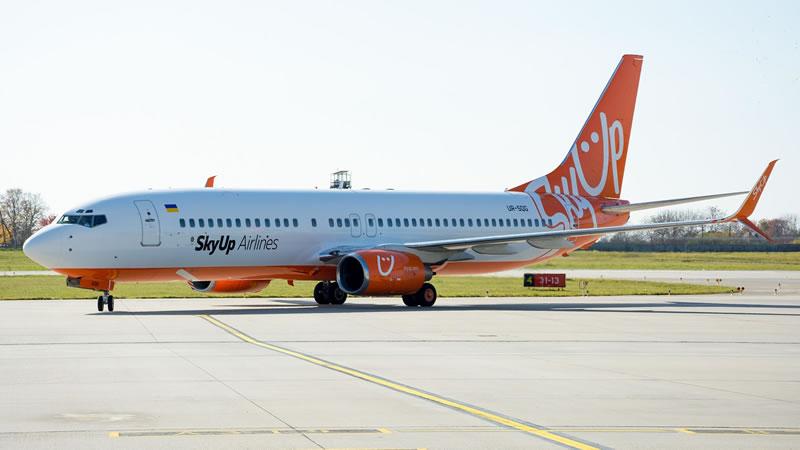 SkyUp вошла в число самых быстрорастущих авиакомпаний Европы