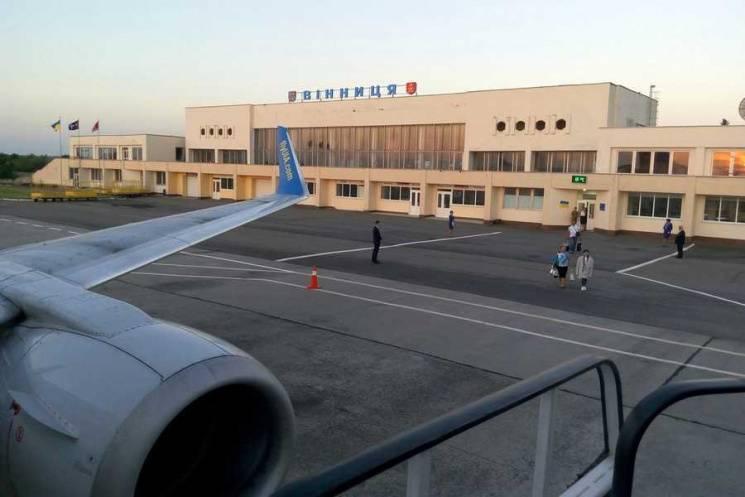 Пассажиропоток аэропорта Винница в 2019 снизился на треть