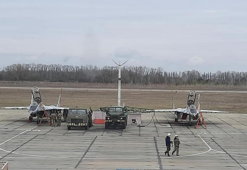 Васильковская бригада отлетала