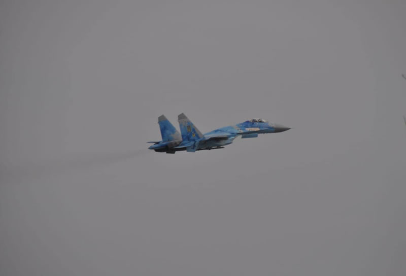 Летчики 831 бригады вновь продемонстрировали высокий уровень подготовки во время летной смены