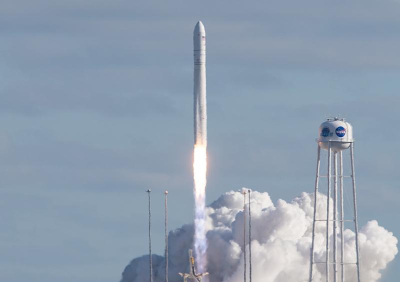 Состоялся пуск ракеты-носителя «Антарес»