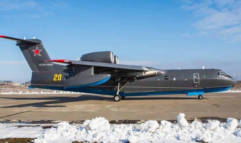 ВМФ РФ продолжает получать украинские двигатели для своих самолетов-амфибий