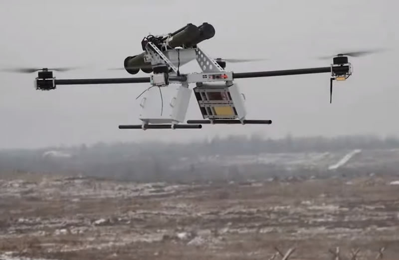 В Беларуси разработали квадрокоптеры с РПГ