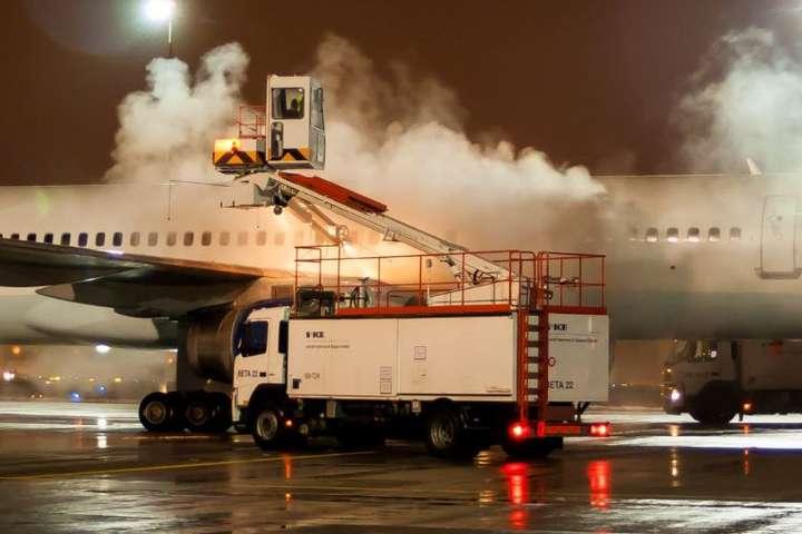 Аэропорт Борисполь купит 2 машины для деайсинга