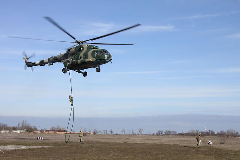 В Одесской области десантировались разведчики