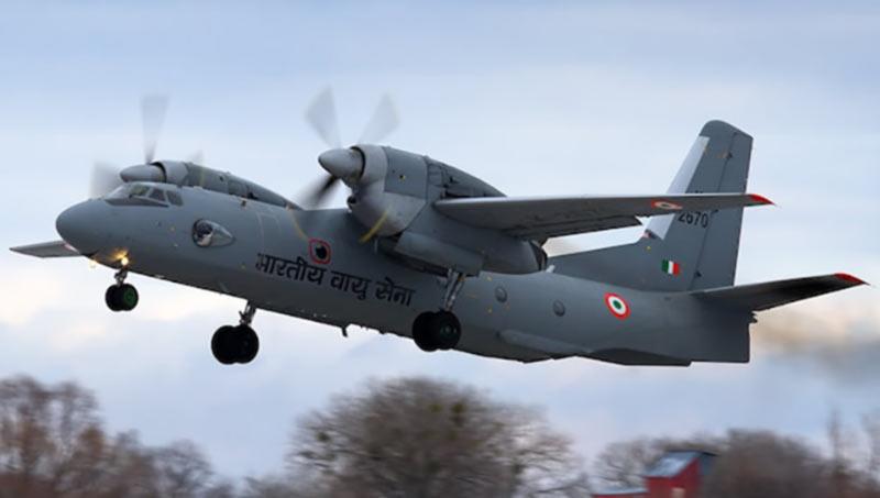 Индийский Ан-32 совершил первый полет полностью на биотопливе