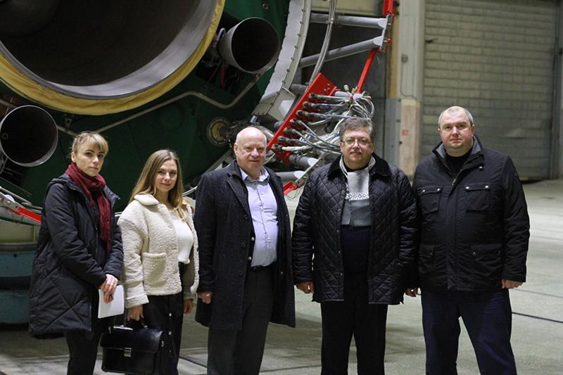 Генеральный консул Германии в Украине посетил Южмаш и КБ Южное