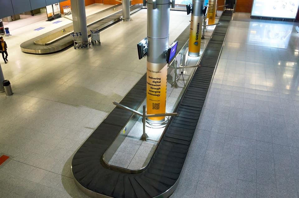 Новый терминал аэропорта Львов заработал