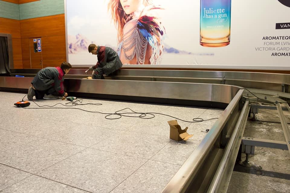 Ремонт в новом терминале аэропорта Львов скоро завершат